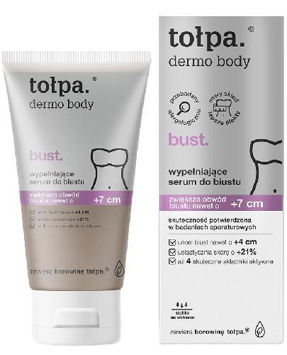 Tołpa Dermo Body Bust wypełniające serum do biustu +7cm 150 ml [KUP 2 produkty = Tołp...