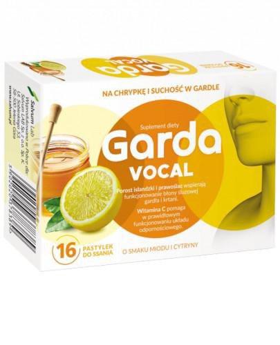 Garda Vocal 16 pastylek do ssania