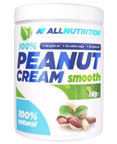 Allnutrition Peanut Butter Smooth masło orzechowe 1000 g