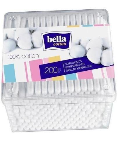 Bella Cotton patyczki higieniczne do uszu 200 sztuk