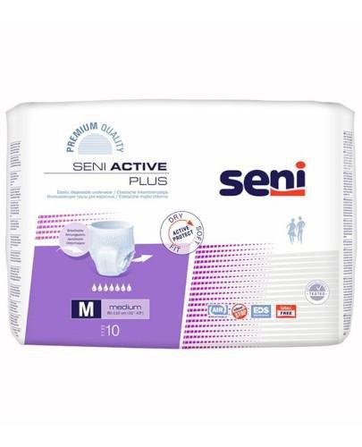 Seni Active Plus elastyczne majtki chłonne rozmiar M 10 sztuk