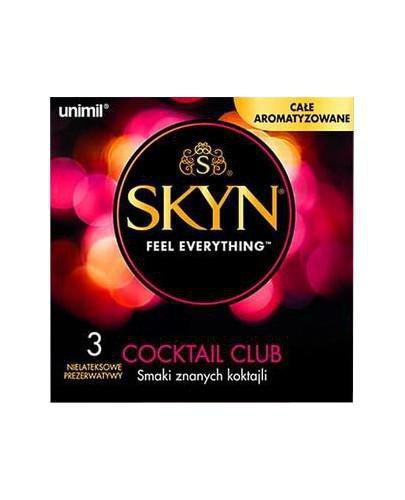 Unimil Skyn Cocktail Club prezerwatywy 3 sztuki