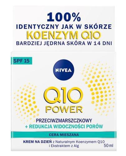 Nivea Q10 Power Przeciwzmarszczkowy + Redukcja widoczności porów krem na dzień SP...