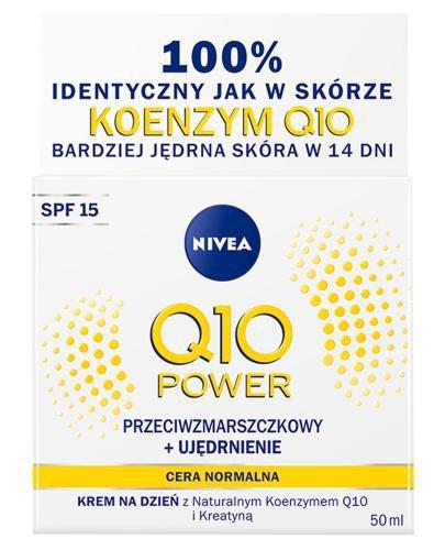 Nivea Q10 Power Przeciwzmarszczkowy + Ujędrnienie Krem na dzień SPF 15 50 ml