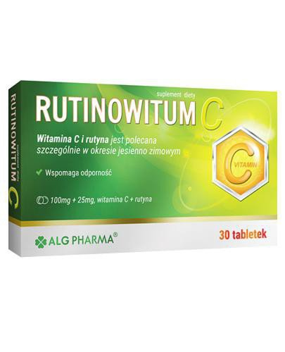 Alg Pharma Rutinowitum C 30 tabletek