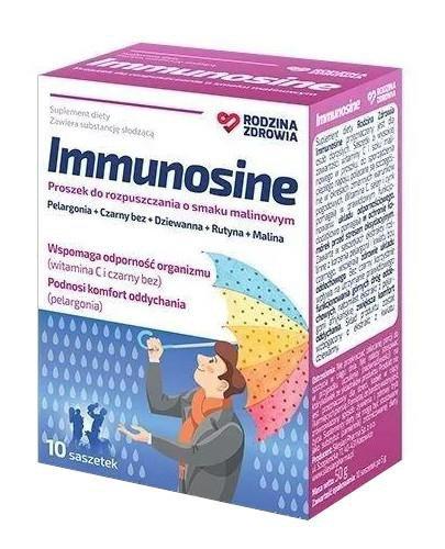 Rodzina Zdrowia Immunosine 10 saszetek