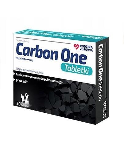 Rodzina Zdrowia Carbon One Tabletki 20 sztuk