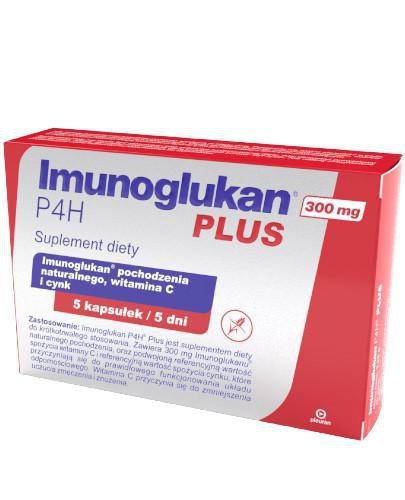 Imunoglukan P4H Plus 5 kapsułek