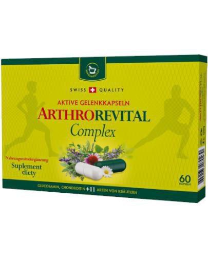 Herbamedicus Arthrorevital Complex 60 kapsułek