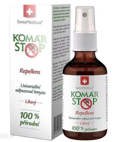 Komar Stop repellent uniwersalny środek odstraszający owady 50 ml