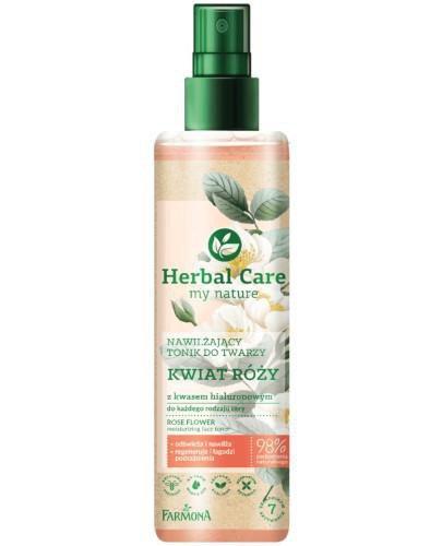 Farmona Herbal Care nawilżający tonik do twarzy Kwiat róży 200 ml