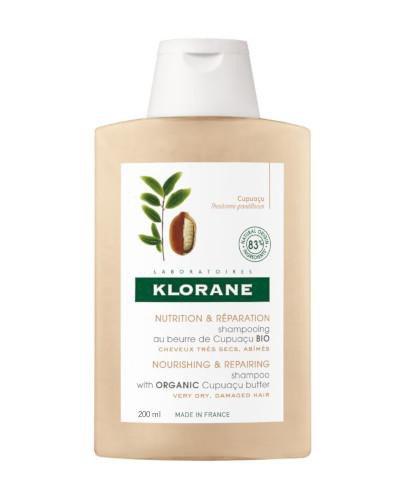 Klorane szampon z organicznym masłem Cupuacu 200 ml