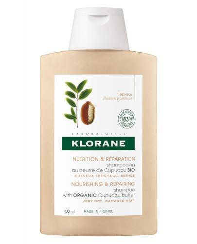 Klorane szampon z organicznym masłem Cupuacu 400 ml