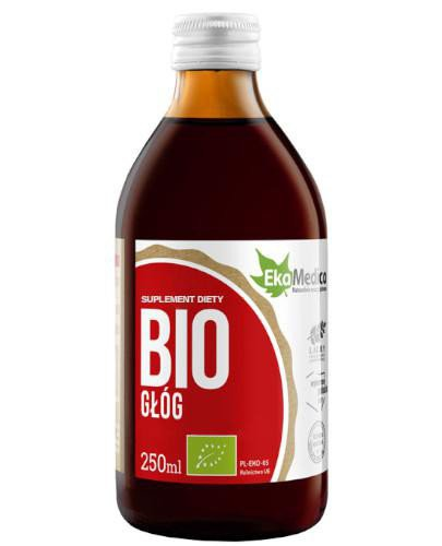 EkaMedica BIO Głóg sok 250 ml