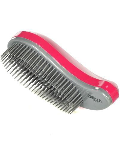 Obella szczotka do włosów detangling różowo-szara 1 sztuka [SZ460]