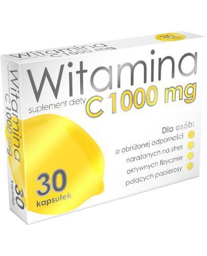 Witamina C 1000 mg 30 kapsułek ALG Pharma