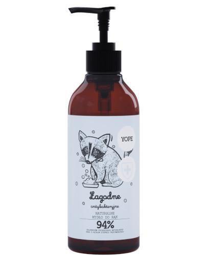 Yope naturalne antybakteryjne mydło do rąk łagodne 400 ml