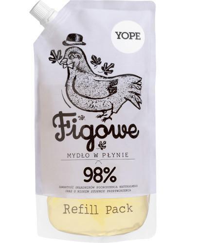 Yope nautralne mydło w płynie figa zapas 500 ml