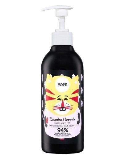 Yope naturalny żel pod prysznic dla dzieci żurawina i lawenda 400 ml