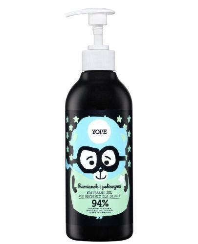 Yope naturalny żel pod prysznic dla dzieci rumianek i pokrzywa 400 ml