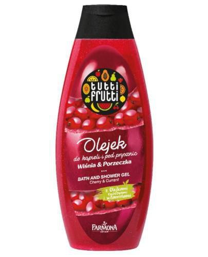 Farmona Tutti Frutti olejek do kąpieli i pod prysznic wiśnia i porzeczka 425 ml