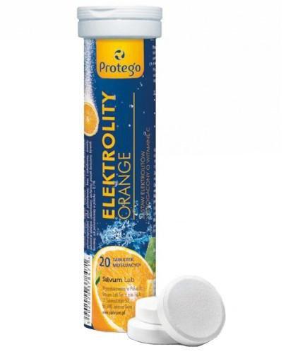 Protego Elektrolity Orange 20 tabletek musujących