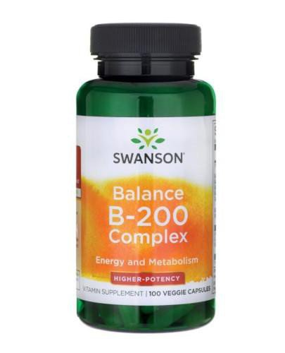 Swanson Balance B-200 Complex 100 kapsułek