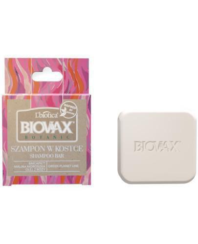 Biovax Botanic Szampon w kostce malina, moroszka i baicapil 82 g