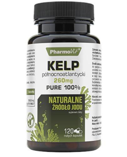 Pharmovit Kelp północnoatlantycki 260 mg 120 kapsułek