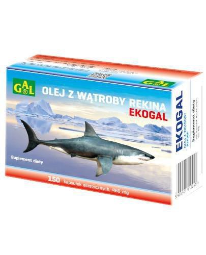 GAL Ekogal 466 mg 150 kapsułek