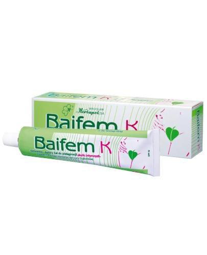 Baifem K ochronno-kojący żel do pielęgnacji okolic intymnych 40 g
