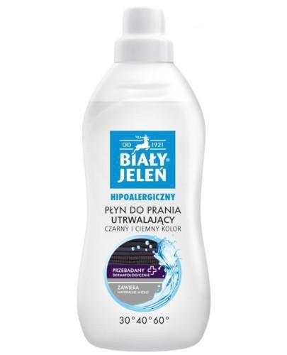 Biały Jeleń Czarny i ciemny kolor hipoalergiczny płyn do prania 1000 ml