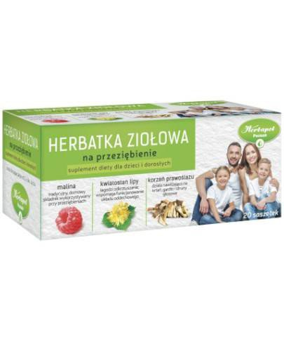 Herbapol herbatka ziołowa na przeziębienie 20 saszetek