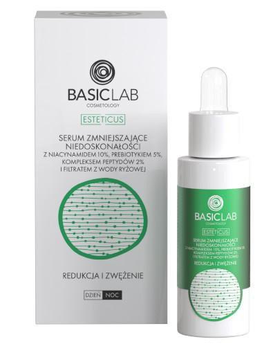 Basiclab Cosmetology Esteticus serum zmniejszające niedoskonałości redukcja i zwężeni...