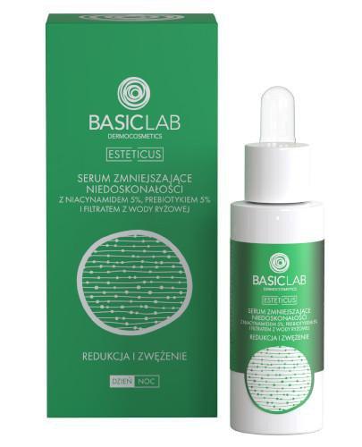 Basiclab Dermocosmetics Esteticus serum zmniejszające niedoskonałości redukcja i zwęż...