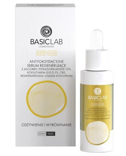 Basiclab Esteticus antyoksydacyjne serum regenerujące odżywienie i wyrównanie 30 ml