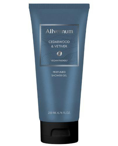 Allvernum perfumowany żel pod prysznic Cedar&Vetiver 200 ml