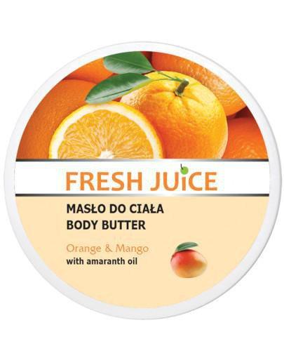 Fresh Juice masło do ciała pomarańcza i mango z olejem z amarantusa 225 ml