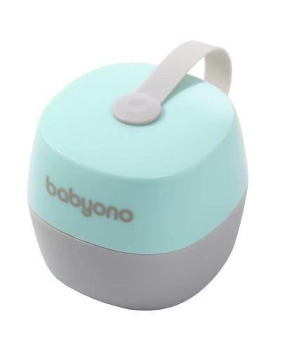 Babyono Natural Nursing pojemnik na smoczek miętowy 1 sztuka [535/02]