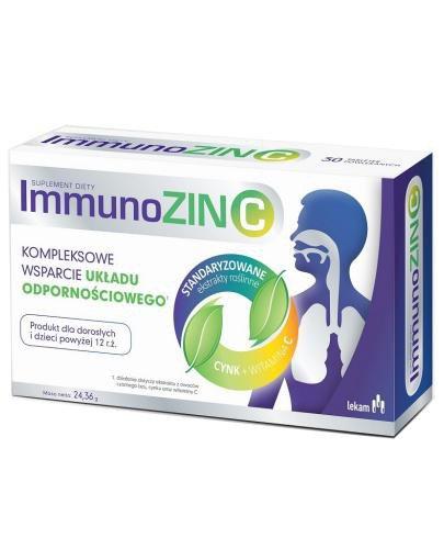 ImmunoZIN C 15 tabletek