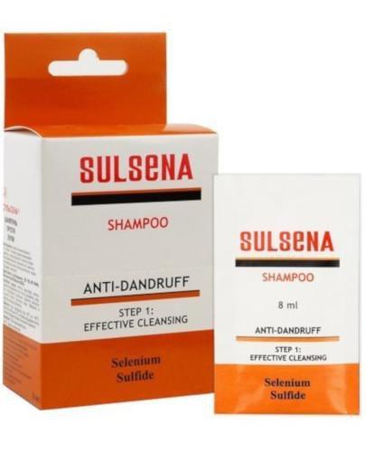 Sulsena szampon przeciwłupieżowy 5 saszetek x 8 ml
