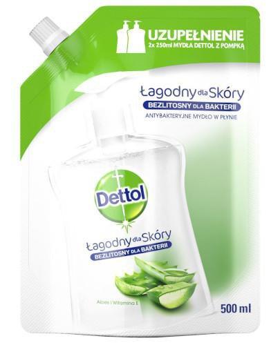 Dettol antybakteryjne mydło w płynie aloes i witamina E wkład uzupełniający 500 ml [K...
