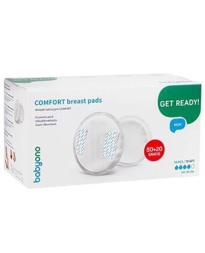 Babyono wkładki laktacyjne Comfort 70 sztuk [296]
