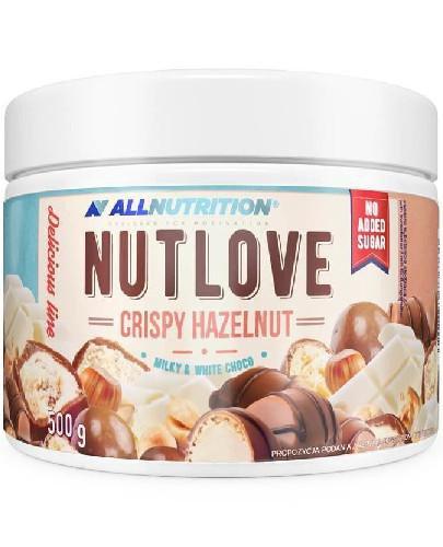 Allnutrition Nutlove Crispy Hazelnut krem mleczno-orzechowy 500 g