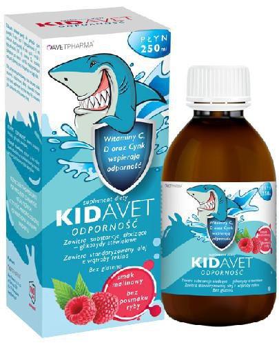 Kidavet Odporność płyn 250 ml