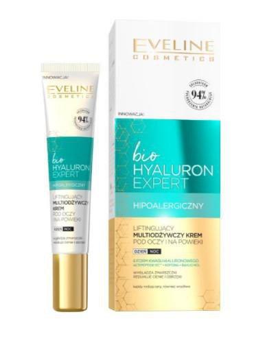 Eveline Bio Hyaluron Expert liftinujący multiodżywczy krem pod oczy i na powieki 20 ml