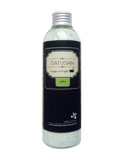 Sól Bocheńska Satusan musująca sól do kąpieli melisa 200 g