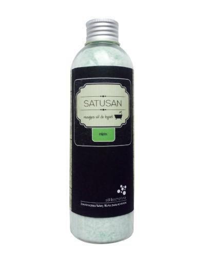 Sól Bocheńska Satusan musująca sól do kąpieli mięta 200 g