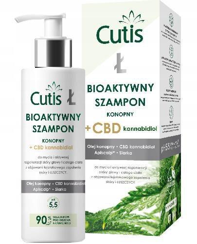 Cutis Ł bioaktywny szampon konopny + CBD 200 ml