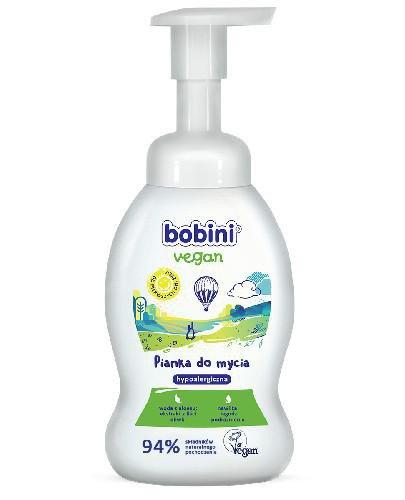 Bobini Vegan pianka do mycia rączek, buzi i ciała 300 ml